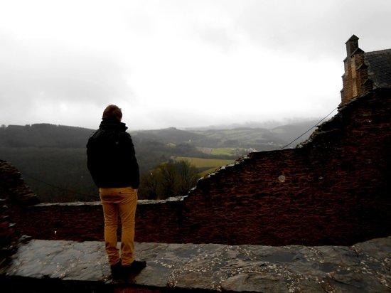 Cocoon Hotel Belair: vue depuis le chateau
