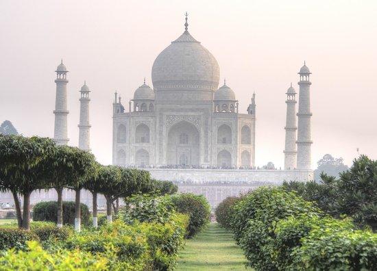 Taj Mahal: Go across the river to Moon Garden for a unique view of the Taj