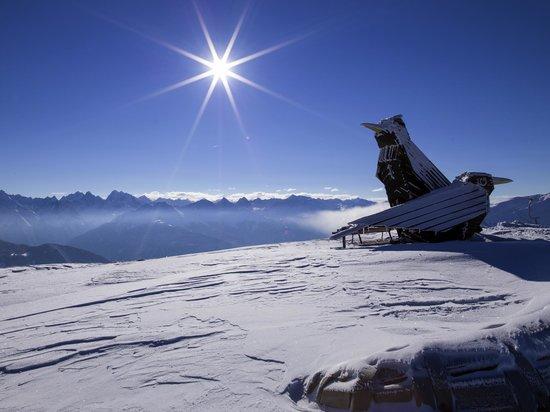 Venet Gipfelhütte - Ausblick am Krahberg
