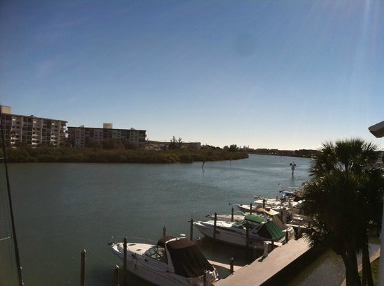 Holiday Inn Hotel & Suites Clearwater Beach South Harbourside: Harbor view