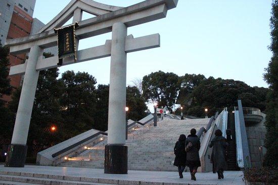 Hie Shrine : entrata