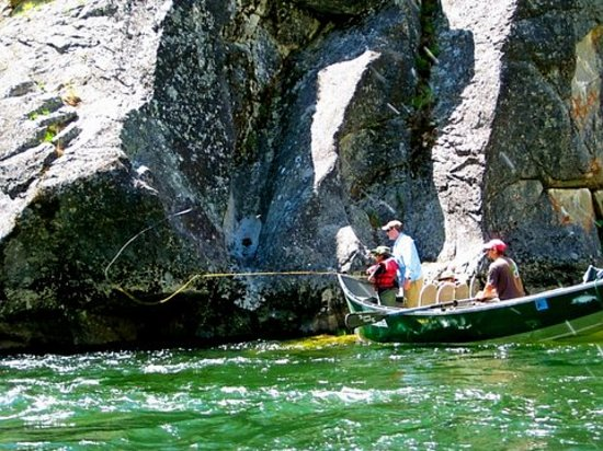 Tight Lines Fishing and Rafting: fly fishing ledges for cutthroat on Middle Fk. Salmon River