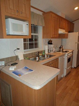 Tropical Palms Resort and Campground : Cozinha