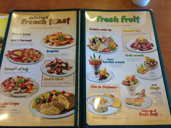 Cora's Breakfast and Luch: Menu