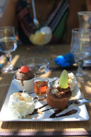 Le Lagon : Café gourmand