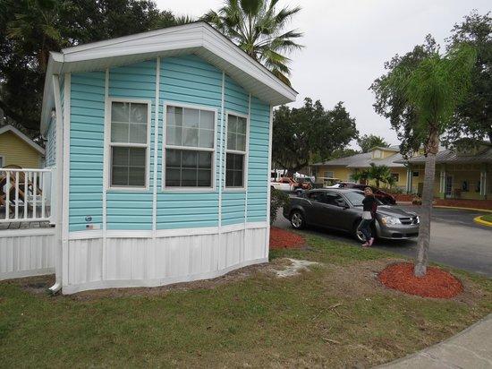 Tropical Palms Resort and Campground: A casinha