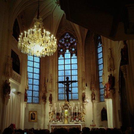 Die Burgkapelle: detail of the interior