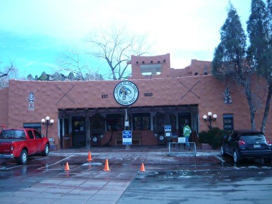 Jardín de los dioses (Garden of the Gods): Trading Post Gift Shop/Restaurant