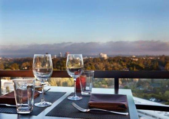 Hotel Angeleno: Views from WEST Restaurant