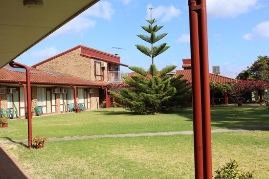 Goolwa Riverport Motel: Aussicht hinten