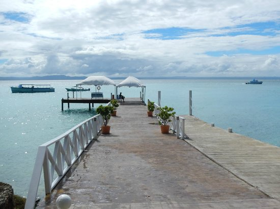 Luxury Bahia Principe Cayo Levantado Don Pablo Collection : Le quai de l'hotel