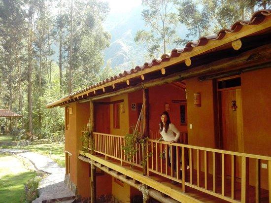 Sacred Dreams Lodge: Cada rincon del Hotel es ideal para deleitarse con la privilgiada vista