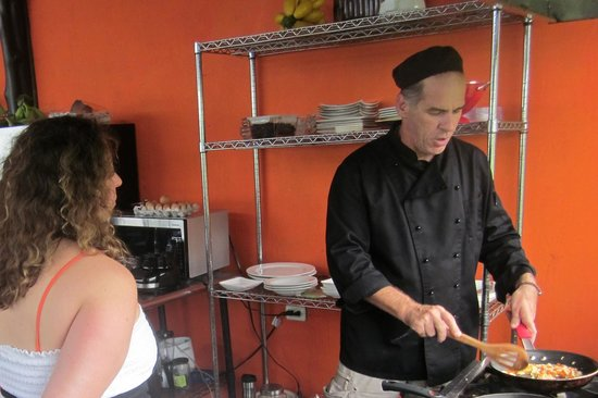 Costa Rica Cooking: Cooking demo