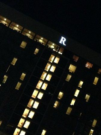 Renaissance Asheville Hotel : Exterior shot... the R Life