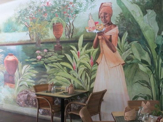 Brown Sugar Restaurant : mural