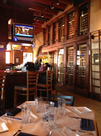 Twisted Vine Bistro: Check out the wines