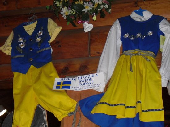 Al Johnson's Swedish Restaurant & Butik: Swedish clothing for youth
