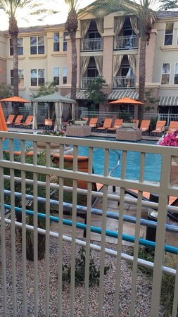 Gainey Suites Hotel: Pool from our room