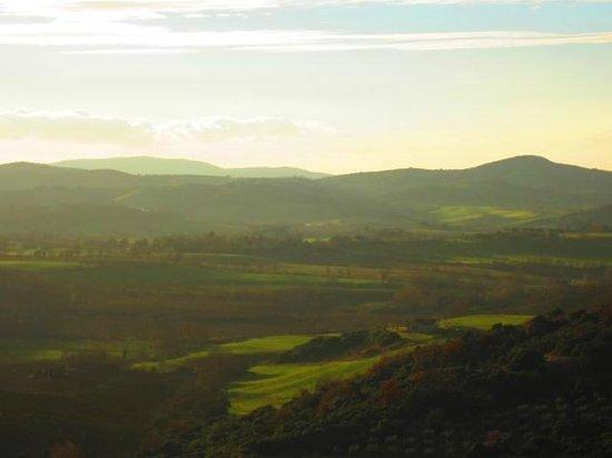 La Vallerana: panorama delle vicinanze