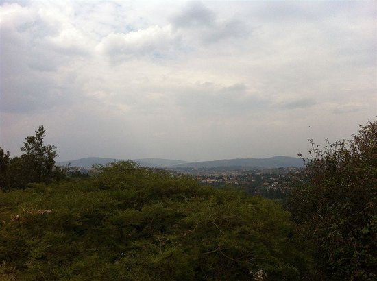 Discover Rwanda Youth Hostel: Overlooking Kigali city from the hostel