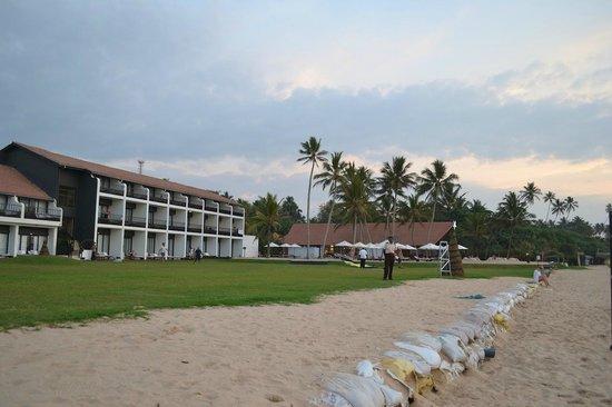 The Surf Hotel: On the beach.