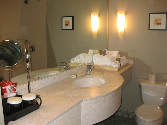 The State House Inn - an Ascend Collection Hotel : Bathroom, State House Inn, Springfield, IL