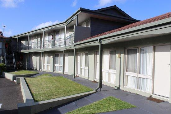 Atwood Motor Inn: Aussicht aus Haupttür