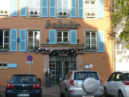 Hotel le Colombier : Fachada