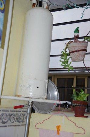 Casa Borbolla Xiomara: Caldaia