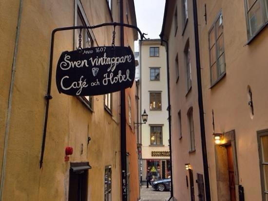 Sven Vintappare Hotel: Gränden