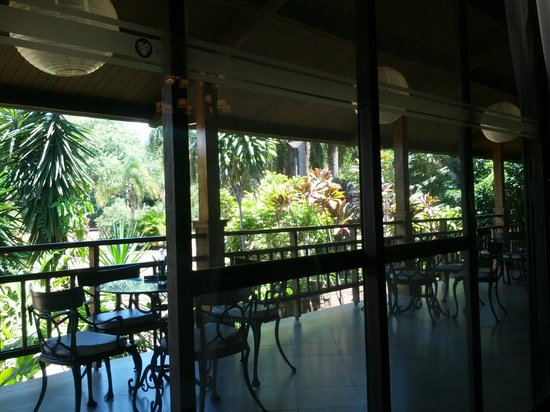 Raices Esturion Hotel : Porch