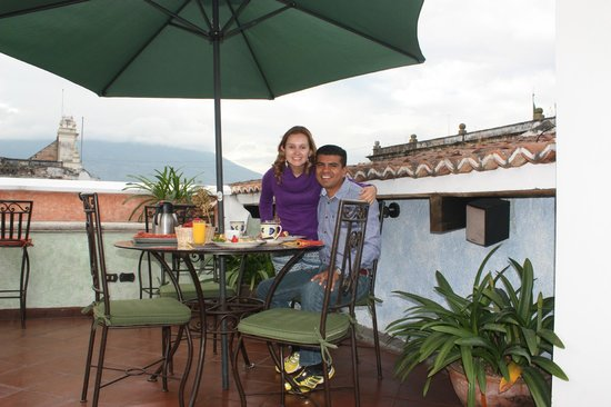 D'Leyenda Hotel: Terraza del Hotel