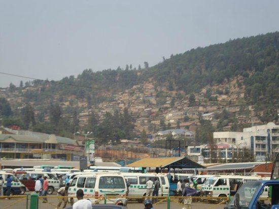 The National Taxi & Bus Park, at Nyabugogo, Kigali