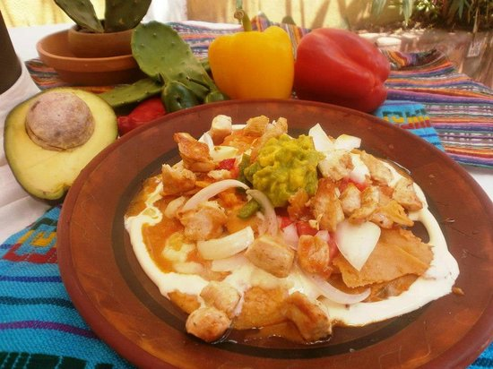 El Mexicano: Chilaquiles