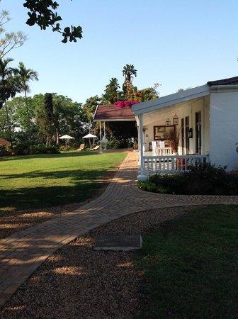 De Charmoy Estate Guest House: B&B ziet er prachtig uit