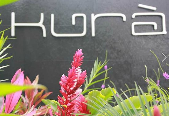 Kura Design Villas Uvita: Hotel sign