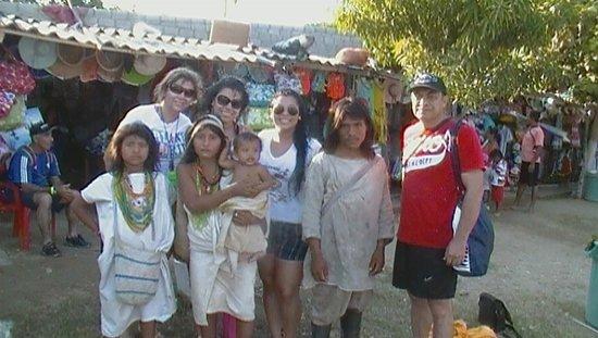 Zuana Beach Resort : En unión con los Aruacos