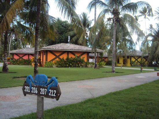 Patachocas Beach Resort: Vista dos chales