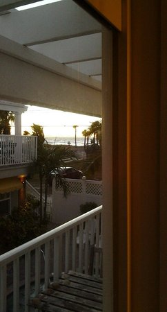 Coconut Inn : Gulf view from unit 10