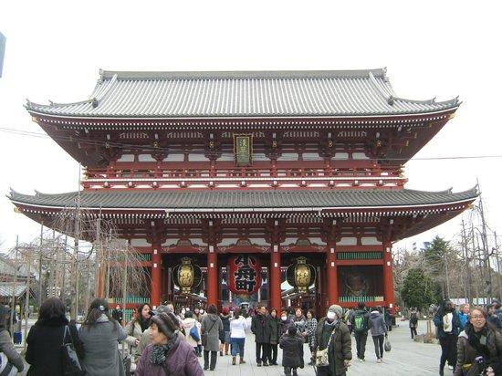 Asakusa: la entrada al templo