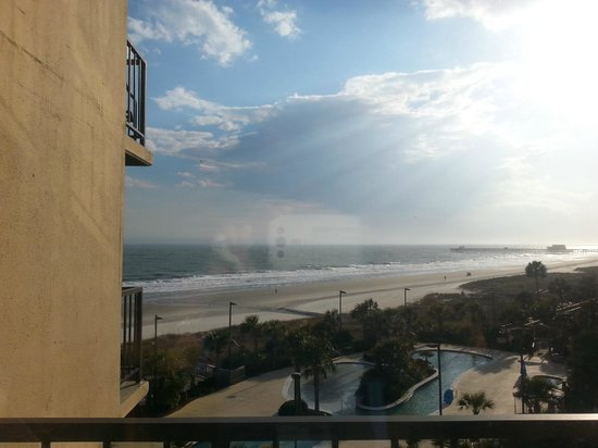 Hilton Myrtle Beach Resort: view from 4th floor