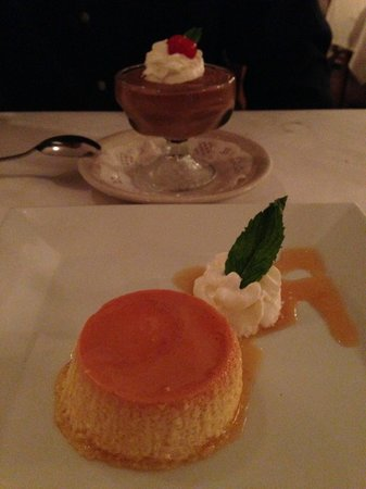 Brazil Brazil : Flan and Mousse