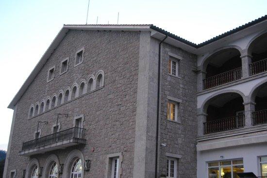 Parador de Vic-Sau: fachada
