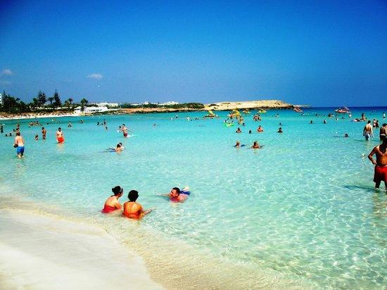 Makronissos Beach July