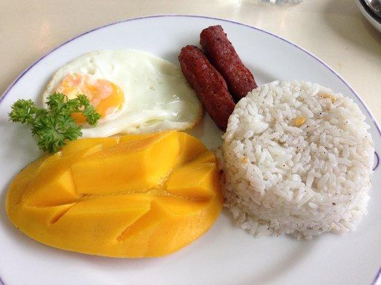Arwana Hotel & Restaurant: ホテルの朝食 MARS BREAKFAST