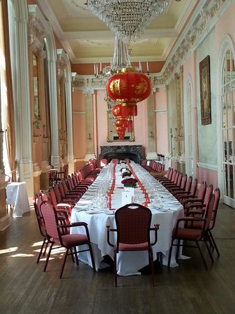 Danesfield House Hotel And Spa: Oriental themed wedding