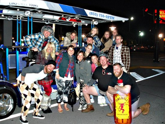 Limo Cycle Tours: Great themed night out