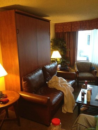 Grand Lodge Crested Butte: Room 504 Fold Down Queen Murphy Bed