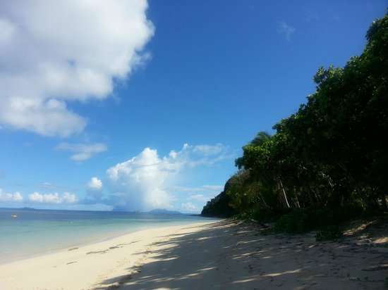 Tokoriki Island Resort: Beach - secluded area