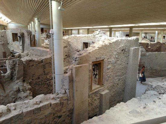Plano de Passeio - Picture of Museum of Prehistoric Thera ...